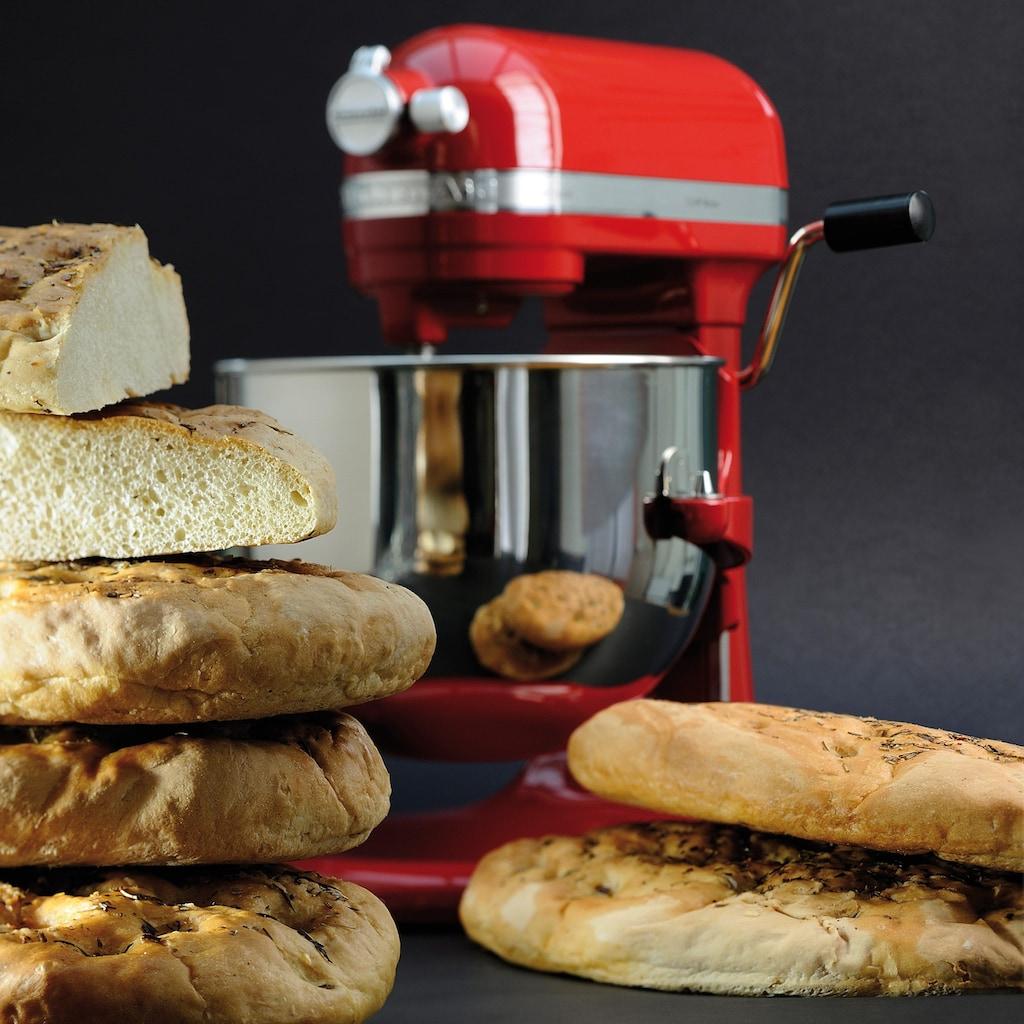 KitchenAid Küchenmaschine »Artisan 5KSM7580XEER«, 500 W, 6,9 l Schüssel, Farbe: Empire Rot