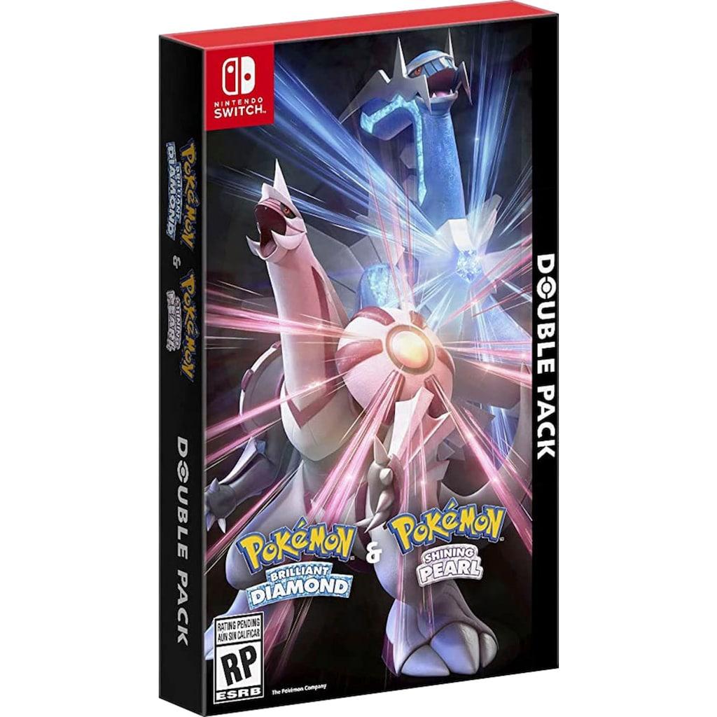 Nintendo Switch Spiel »Pokémon Strahlender Diamant und Pokémon Leuchtende Perle - Doppelpack«, Nintendo Switch