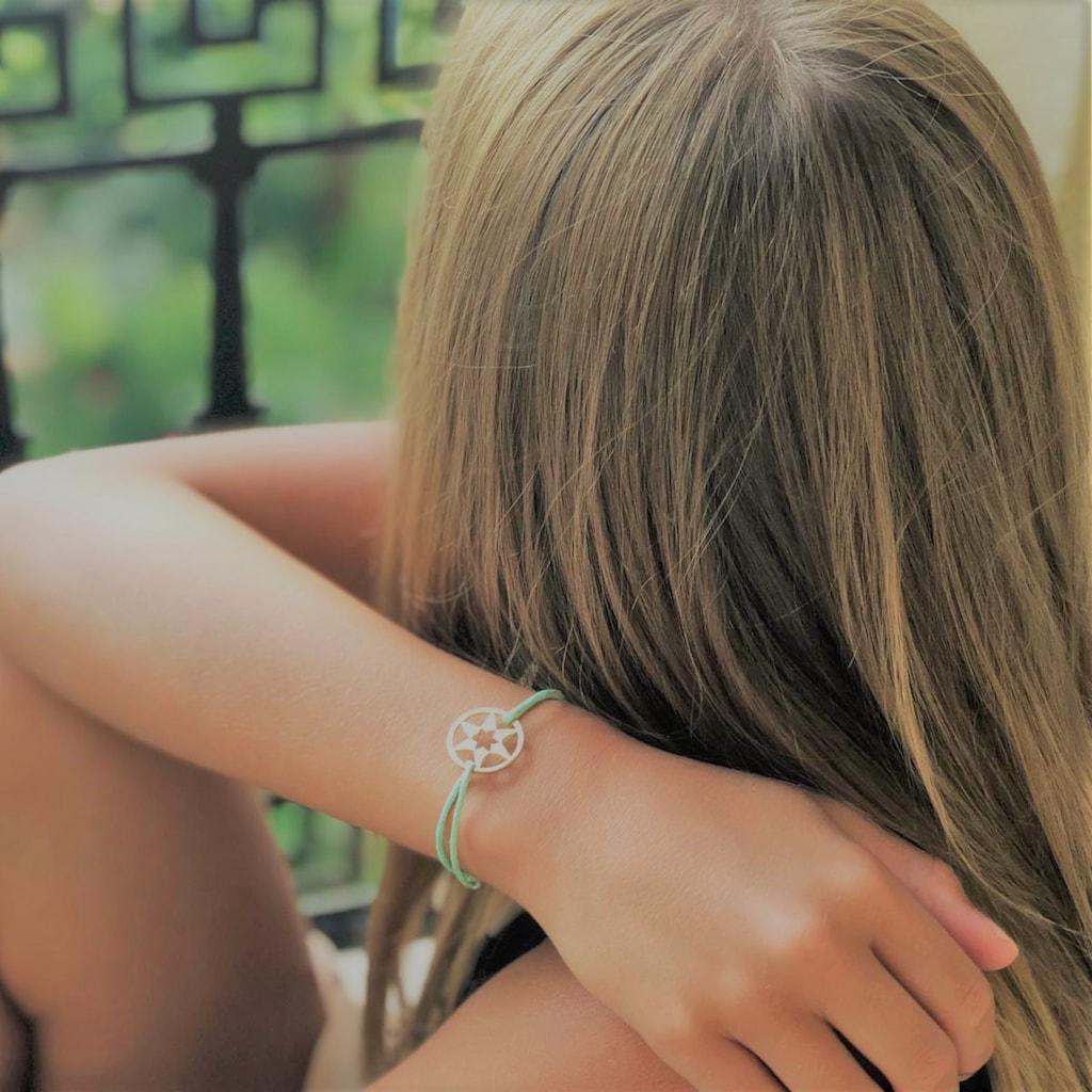 AILORIA Armband »AILORIA«, Größenverstellbar mit Edelstahl-Charm