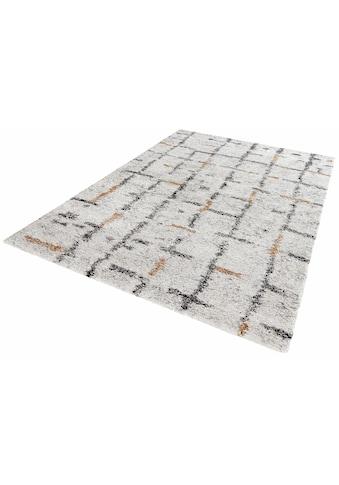 MINT RUGS Hochflor-Teppich »Grid«, rechteckig, 30 mm Höhe, Wohnzimmer kaufen
