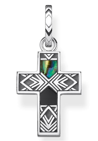 THOMAS SABO Kreuzanhänger »Kreuz Abalone Perlmutt, PE835 - 976 - 7« kaufen