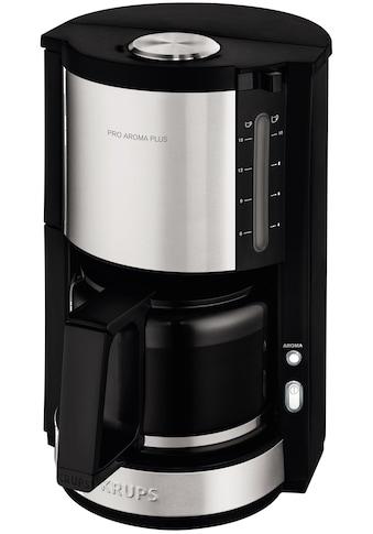 Krups Filterkaffeemaschine »ProAroma Plus KM321«, Papierfilter, 1x4, mit Aromaschalter kaufen
