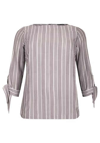 VIA APPIA DUE Modische Bluse mit Streifen Plus Size kaufen