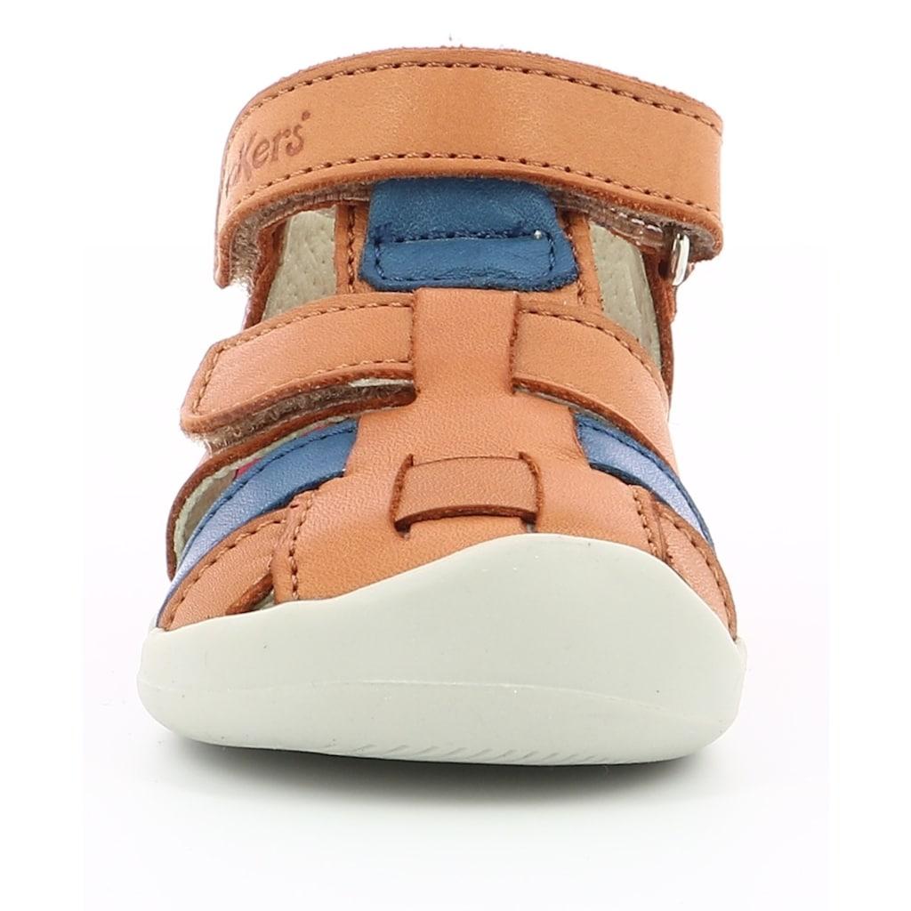 Kickers Lauflernschuh »WASABOU«, mit praktischem Klettverschluss