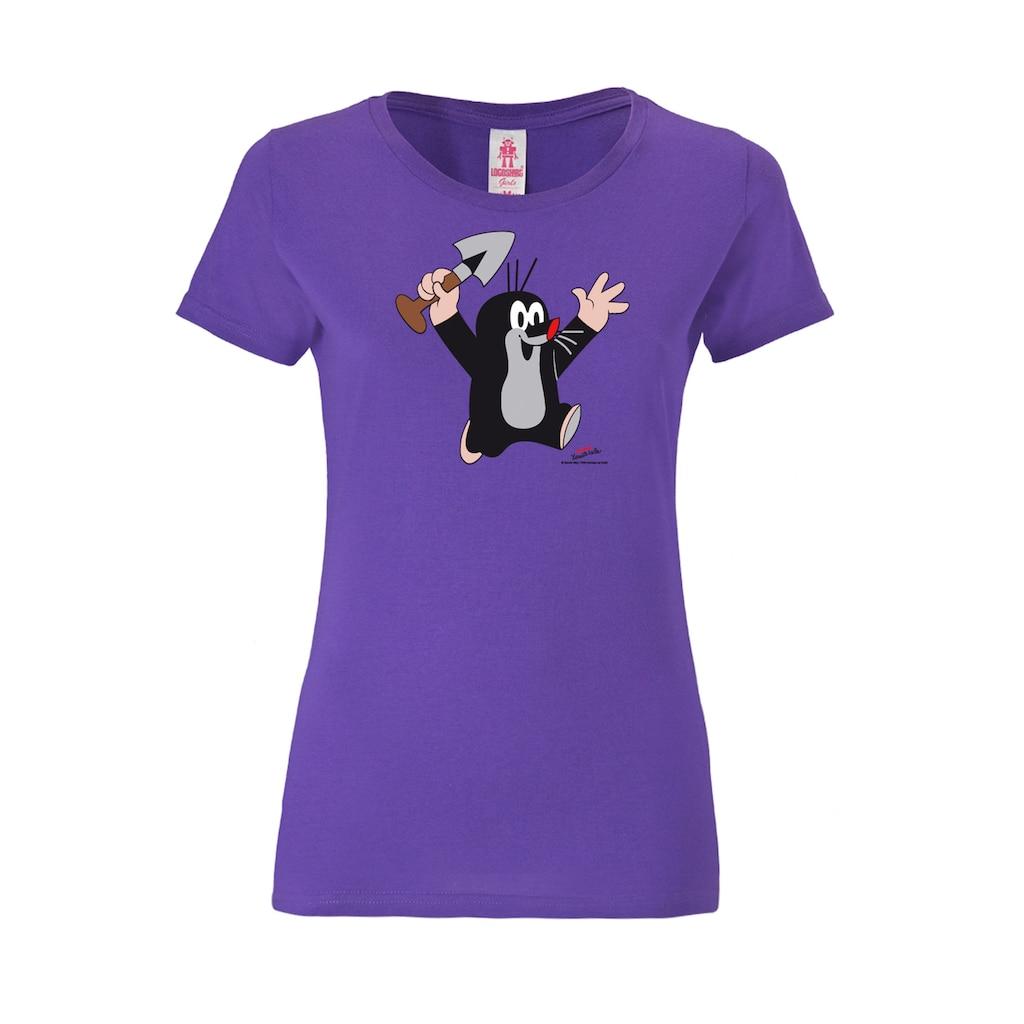 LOGOSHIRT T-Shirt »Der kleine Maulwurf«, mit Print mit lizenziertem Originaldesign