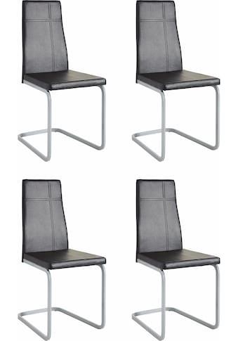 Homexperts Esszimmerstuhl »Cross 02«, (2 oder 4 Stück), Bezug in Kunstleder kaufen