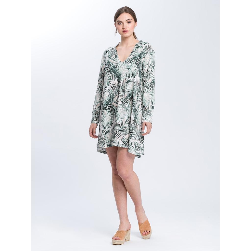Cross Jeans® Sommerkleid »92155«, Sommerliches Kleid mit Allover-Print
