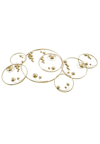 Wanddeko mit Ringen und Halbkugeln kaufen