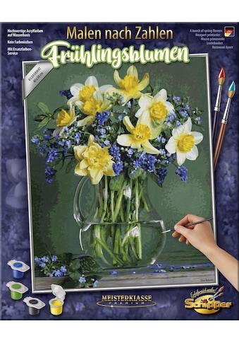 Schipper Malen nach Zahlen »Meisterklasse Premium, Frühlingsblumen«, Made in Germany kaufen
