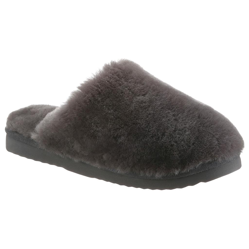 WARMBAT Pantoffel »MUNGO«, mit leichter Laufsohle