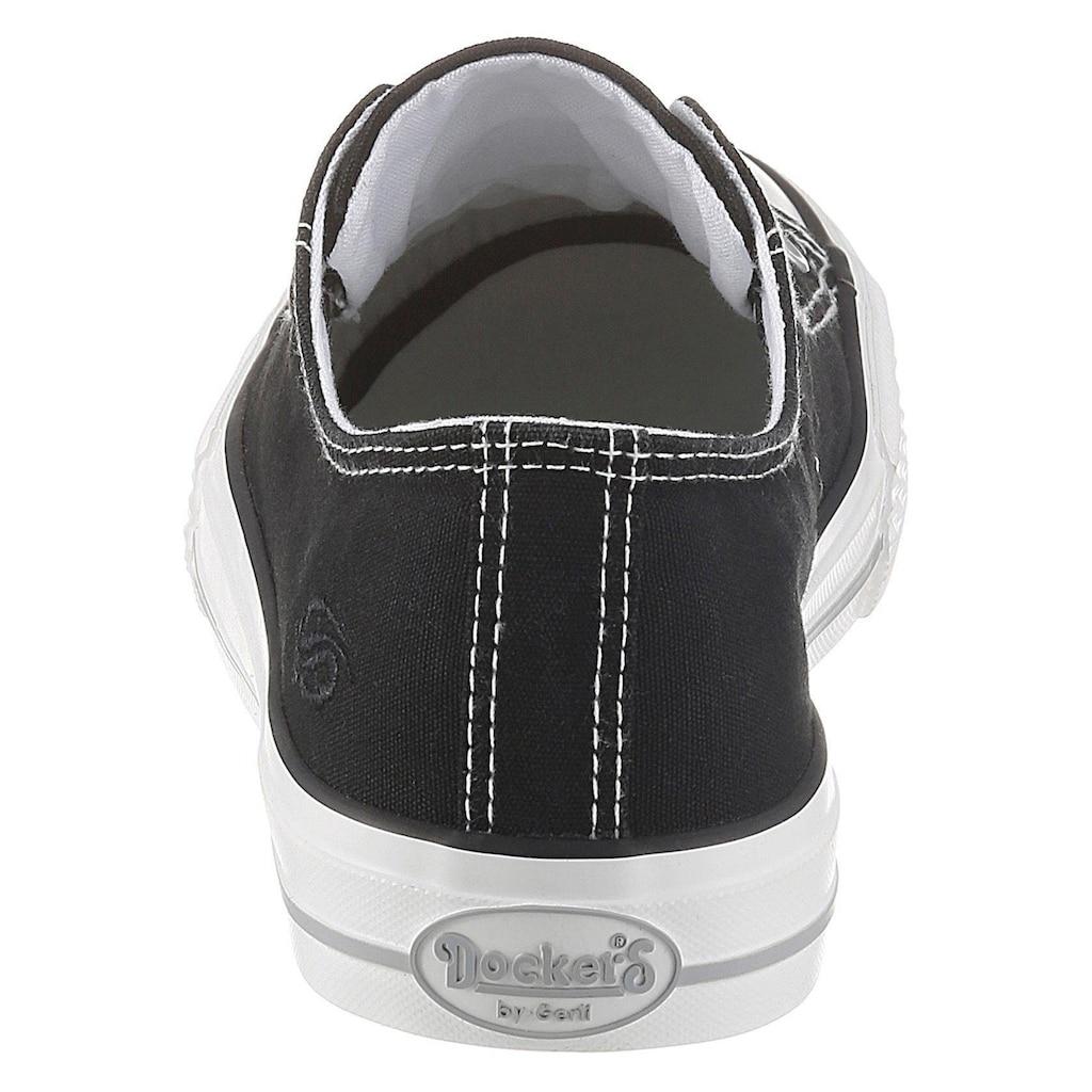 Dockers by Gerli Slip-On Sneaker, mit Zierösen