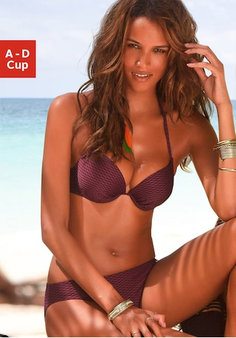 Bruno Banani Push-Up-Bikini, in schöner Strukturware kaufen