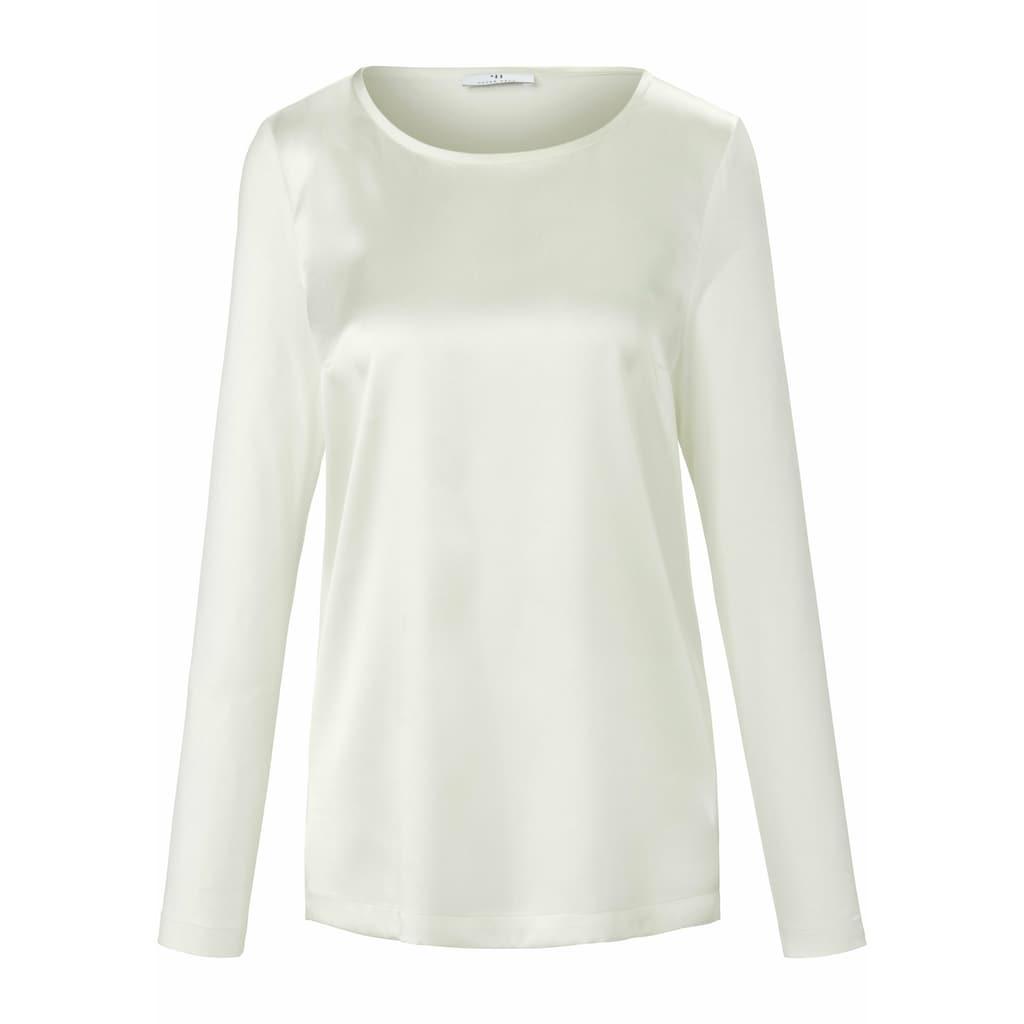 Peter Hahn Langarmbluse »Blusen-Shirt«