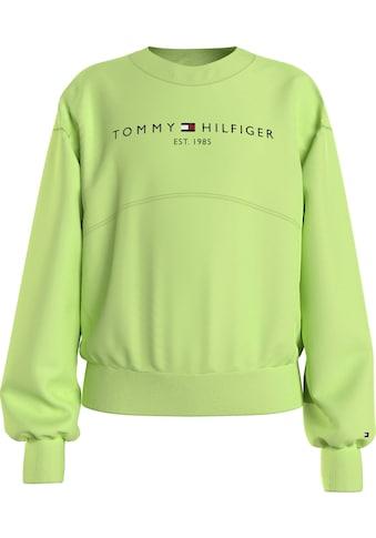 TOMMY HILFIGER Sweatshirt »ESSENTIAL SWEATSHIRT«, mit modischer Ziernaht kaufen