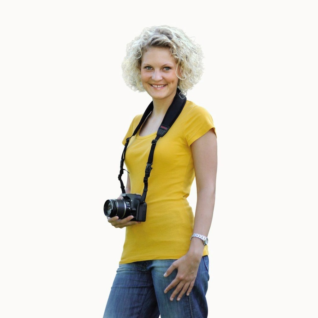 Hama Ergonomischer Kamera-Tragegurt 2in1, 130