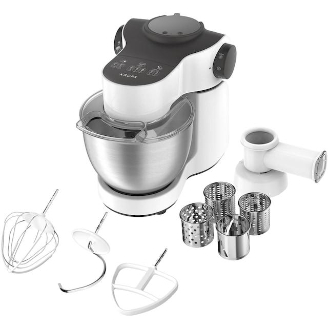 Krups Küchenmaschine KA3121 Master Perfect, 1000 Watt, Schüssel 4 Liter