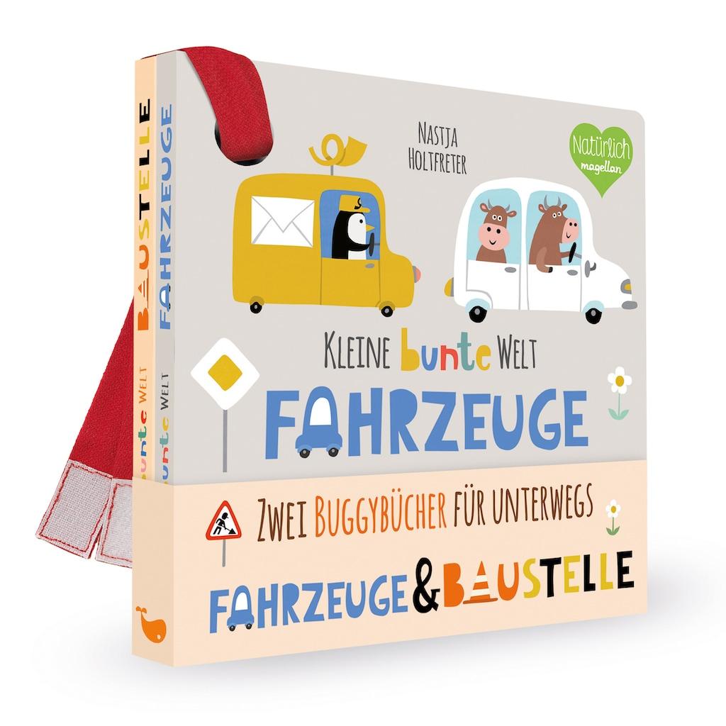 Buch »Kleine bunte Welt - Fahrzeuge & Baustelle / Nastja Holtfreter«
