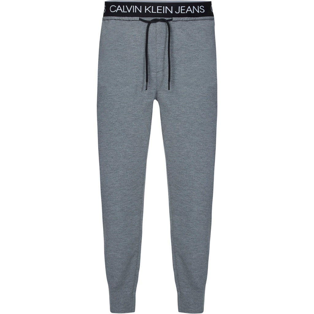 Calvin Klein Jeans Sweathose »EXPOSED WAISTBAND MILANO PANT«