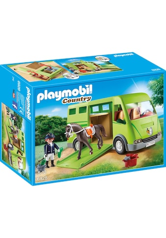 Playmobil® Konstruktions-Spielset »Pferdetransporter (6928), Country«, Made in Europe kaufen