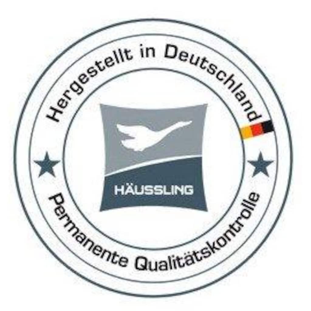 Haeussling Daunenbettdecke »Moschus Royal Medium«, Füllung 100% Daunen, Bezug Feine Baumwoll-Einschütte OHNE optische Aufheller, 100% Baumwolle, (1 St.)