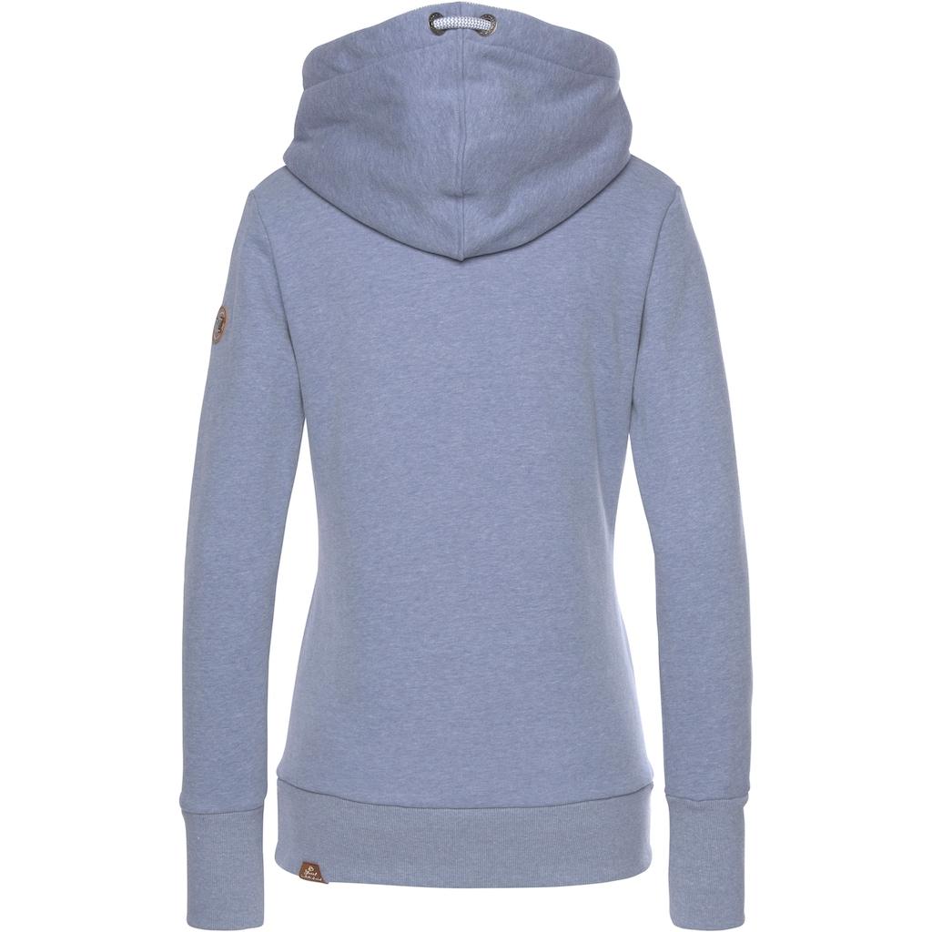 Ragwear Sweatshirt »GRIPY BOLD«, mit rustikalen Kordel-Akzenten