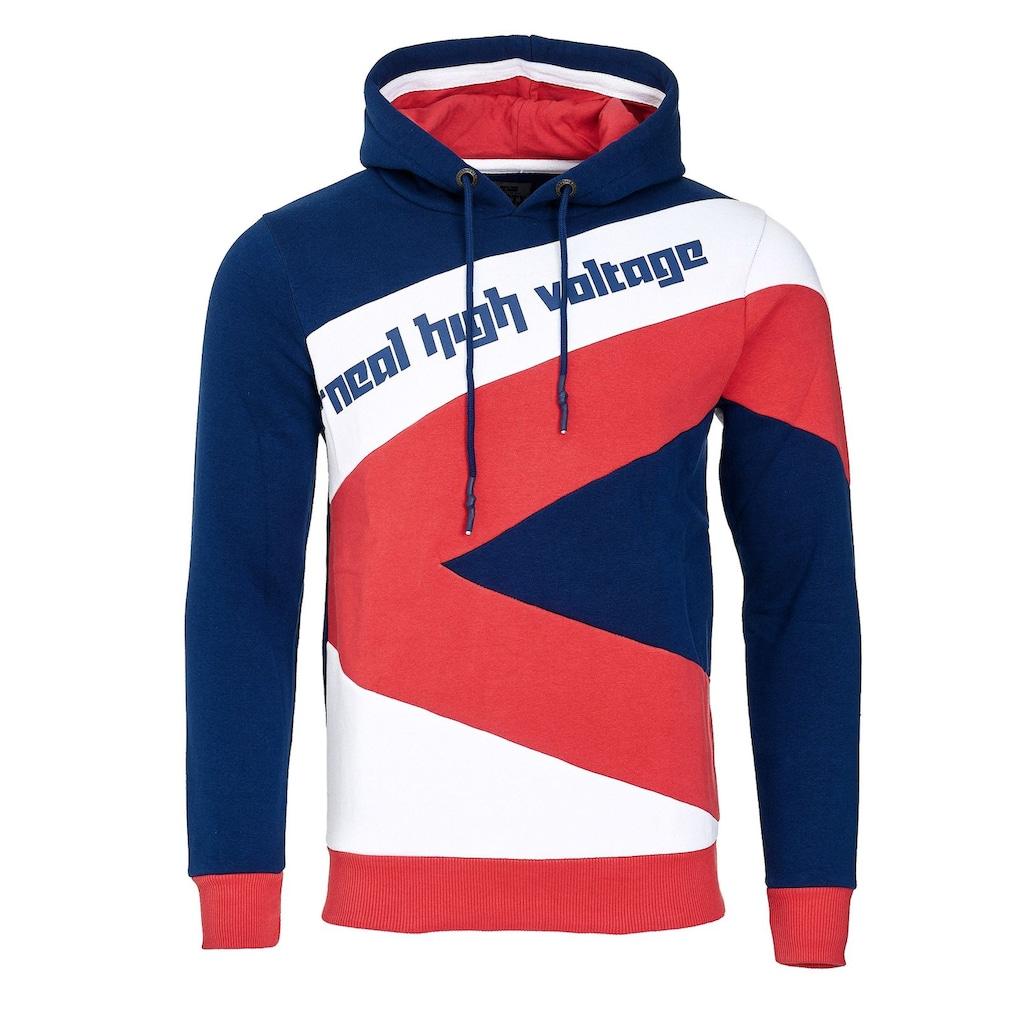Rusty Neal Kapuzensweatshirt, mit modischen Kontrasten