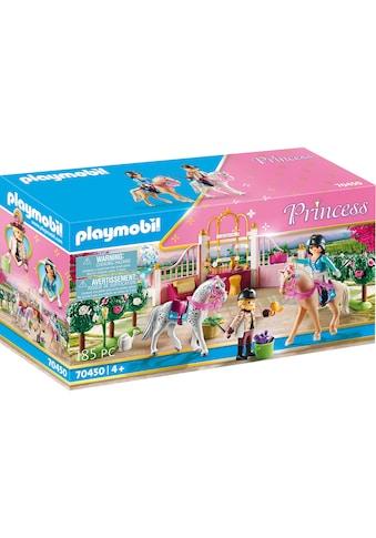 Playmobil® Konstruktions-Spielset »Reitunterricht im Pferdestall (70450), Princess«,... kaufen