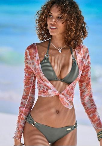 LASCANA Bikini-Hose »Italy«, mit seitlichen Zierringen kaufen