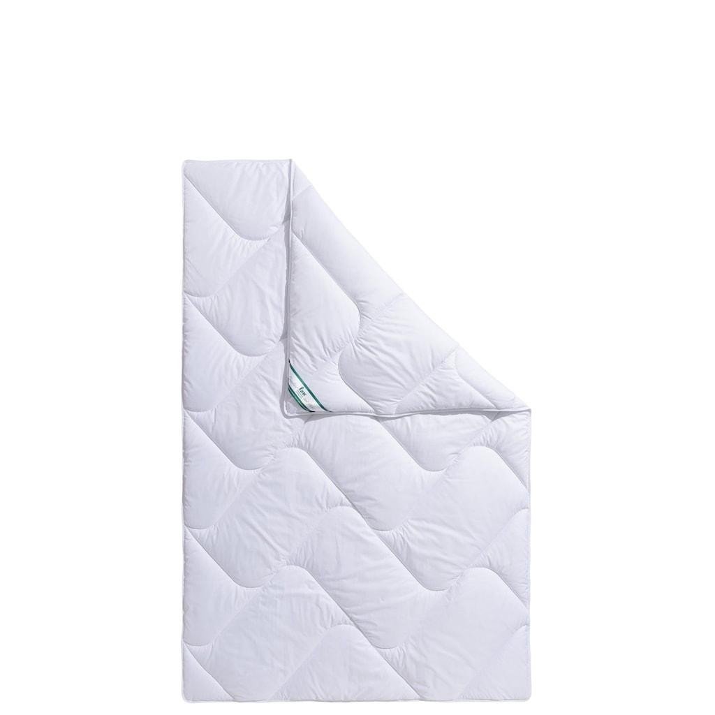 f.a.n. Schlafkomfort Microfaserbettdecke »Microfaser kochfest«, leicht, (1 St.), ideale Wärmeisolierung und effektiver Feuchtigkeitstransport