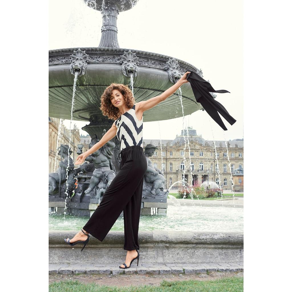 Aniston SELECTED Overall, mit Gummizug und Bindeband