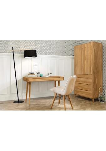Home affaire Schreibtisch »Scandi«, aus massivem Eichenholz, mit vielen... kaufen