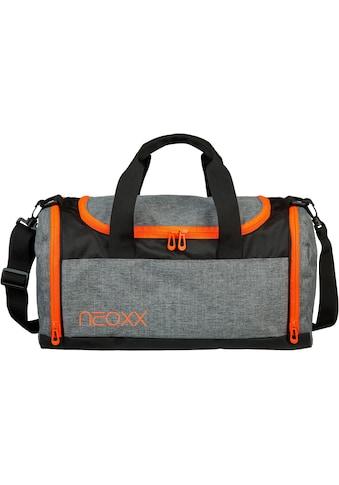 neoxx Sporttasche »Champ, Stay orange«, aus recycelten PET-Flaschen kaufen