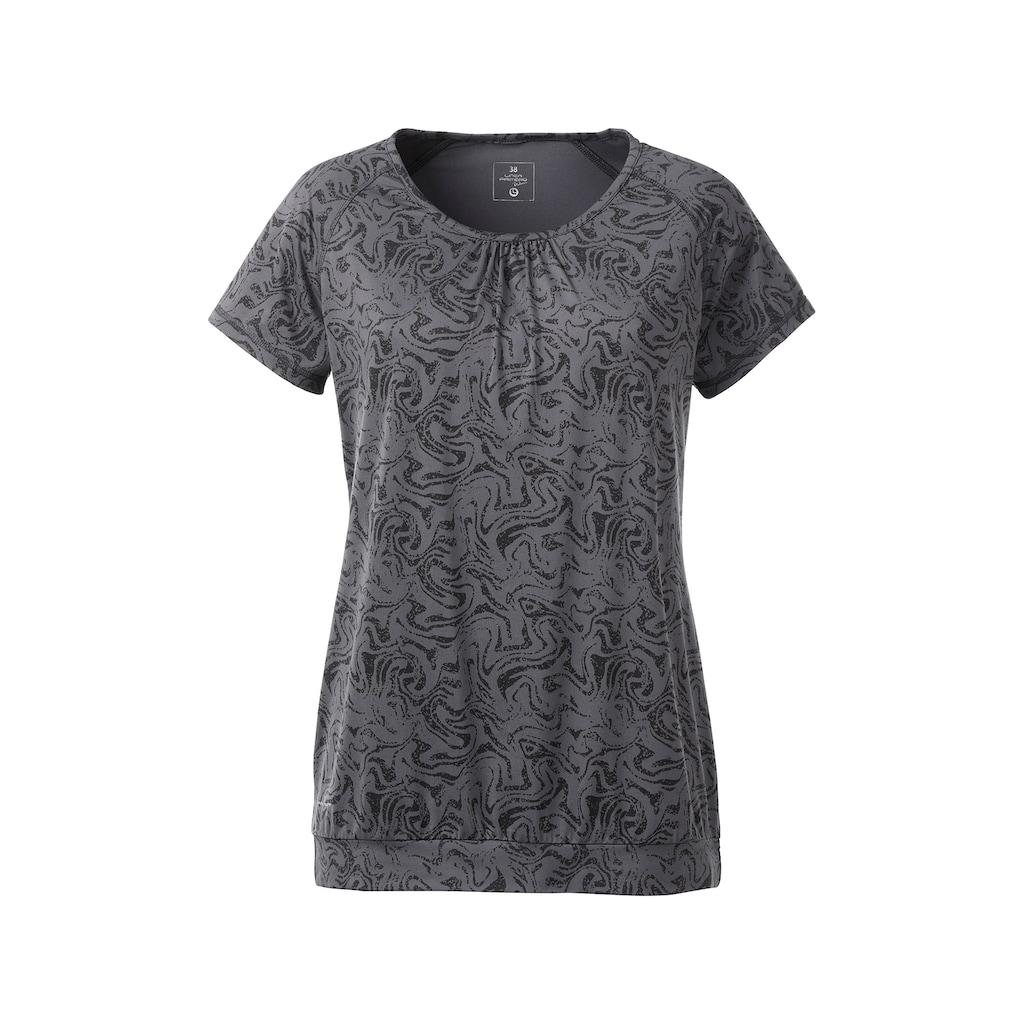 DEPROC Active Funktionsshirt »JULIET WOMEN«, mit Allover-Print