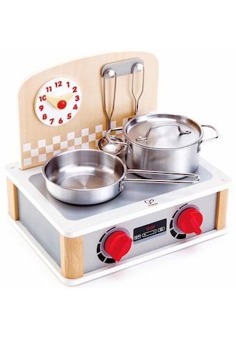 """Hape Kinder - Küchenset """"2 - in - 1 Küchen -  & Grill - Set, 6 - tlg."""" kaufen"""