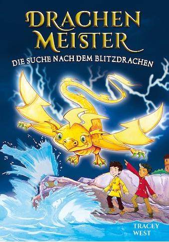 Buch »Drachenmeister Band 7 - Die Suche nach dem Blitzdrachen / Tracey West« kaufen