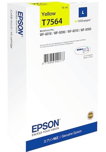 Epson Tintenpatrone »L Yellow T7564«, (1 St.) kaufen