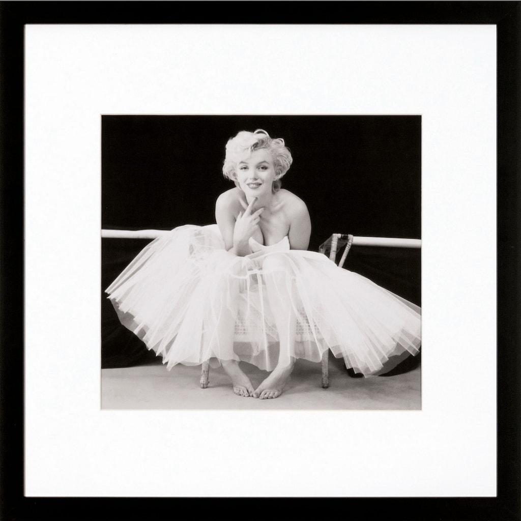 G&C Bild »Marilyn Monroe Motiv 1«, 40/40 cm, gerahmt