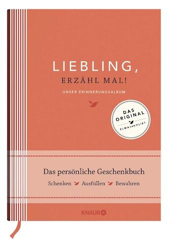Buch »Liebling, erzähl mal!   Elma van Vliet / Elma van Vliet, Ilka Heinemann,... kaufen
