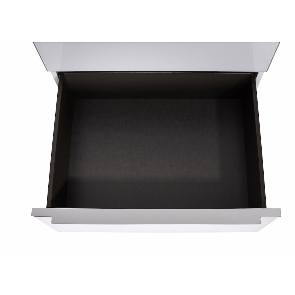 nolte® Möbel Nachtkommode »Alegro2 Style«, Glasfronten, Breite 60 cm