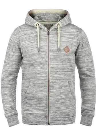 Solid Kapuzensweatjacke »Craig«, Kapuzensweatshirt mit Melange Optik kaufen