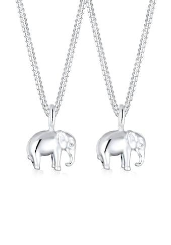 Elli Schmuckset »Mutter Kind Elefant Verbundenheit 925 Silber« kaufen