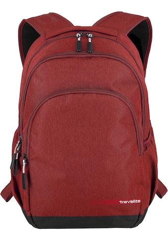 travelite Freizeitrucksack »Kick Off rot, 45 cm« kaufen