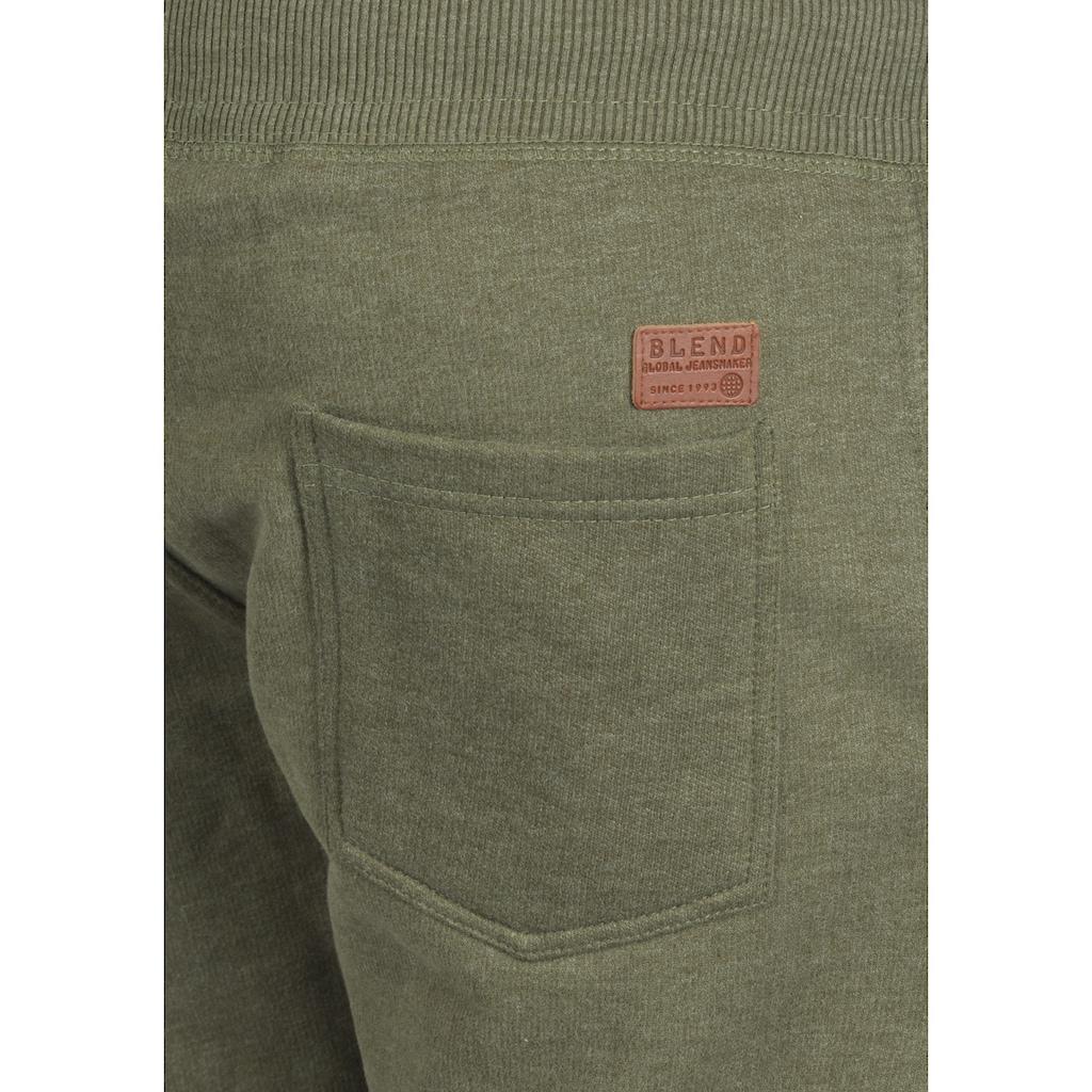 Blend Sweatshorts »Timo«, kurze Hose mit fixierten Saumkanten am Bein