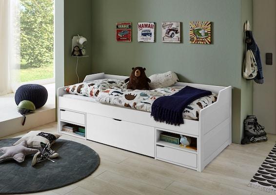 Kojenbett in Weiß