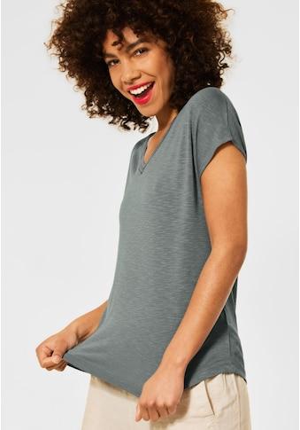 STREET ONE V-Shirt, im Basic-Style kaufen