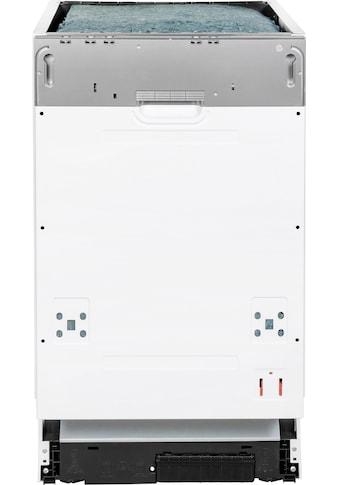 vonReiter vollintegrierbarer Geschirrspüler »VREGSP 45210E«, VREGSP 45210E, 8 l, 10... kaufen