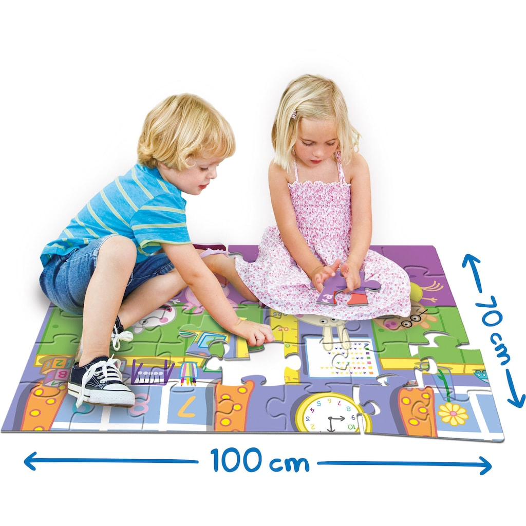Clementoni® Puzzle »Bodenpuzzle - Peppa Pig«, Made in Europe