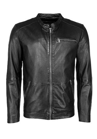 JCC Lederjacke »Stylische Lederjacke mit einer Brusttasche« kaufen