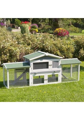 ABUKI Kleintierstall »Villa«, BxTxH: 205x46,5x86,5 cm kaufen