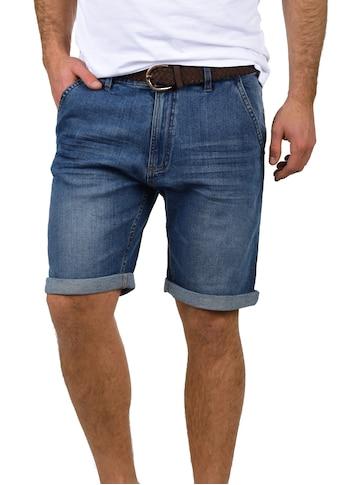 Indicode Jeansshorts »Quincy«, kurze Hose mit Gürtel kaufen